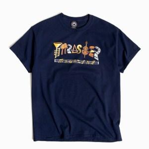 Camiseta Thrasher Fillmore Navy Blue