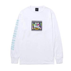 Camiseta Huf Test Screen White L/S