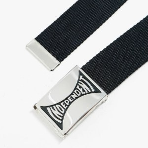 Cinturón Independent Span Web Black