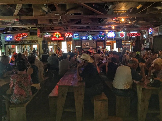 Crowd Watching Band of Babies at Gruene Hall
