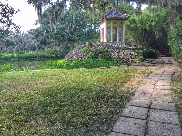 Buddha Temple in Jungle Gardens, Avery Island