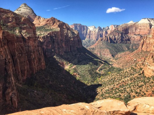 Canyon Overlook at Zion National Park