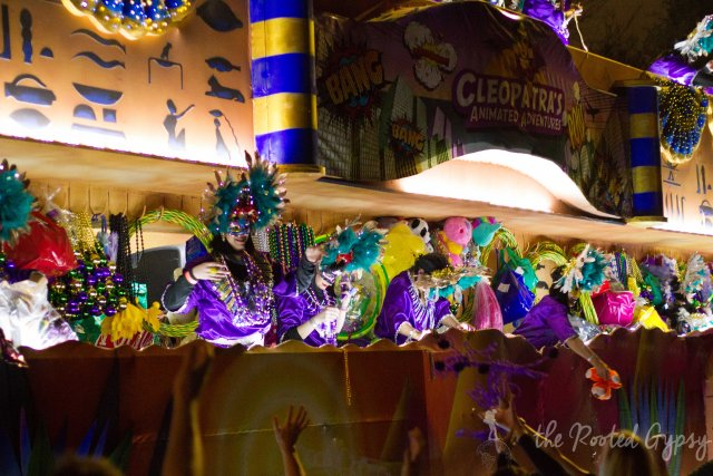 The Ladies of Cleopatra Mardi Gras New Orleans