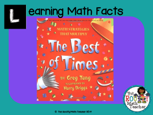 "Read about ""Learning Math Facts"" here!"