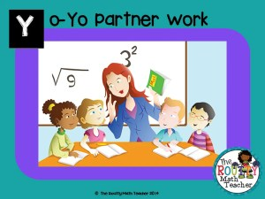 "Read about ""Yo-Yo Partner Work"" here!"