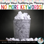 Analyzing Word Problems for Meaning– No More Keywords! (Revisited)