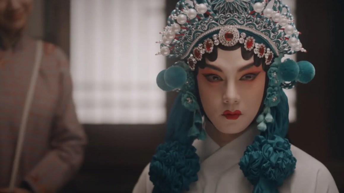 Winter Begonia's Shang Xirui in Opera garb