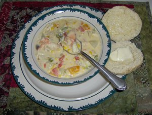 Rich, hearty Crab Chowder
