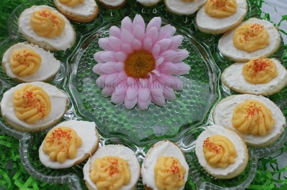 deviled cakes plated horizontal watermark