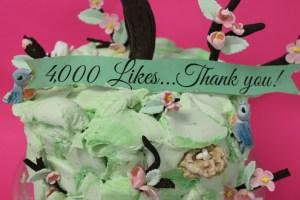 4000 likes horizontal