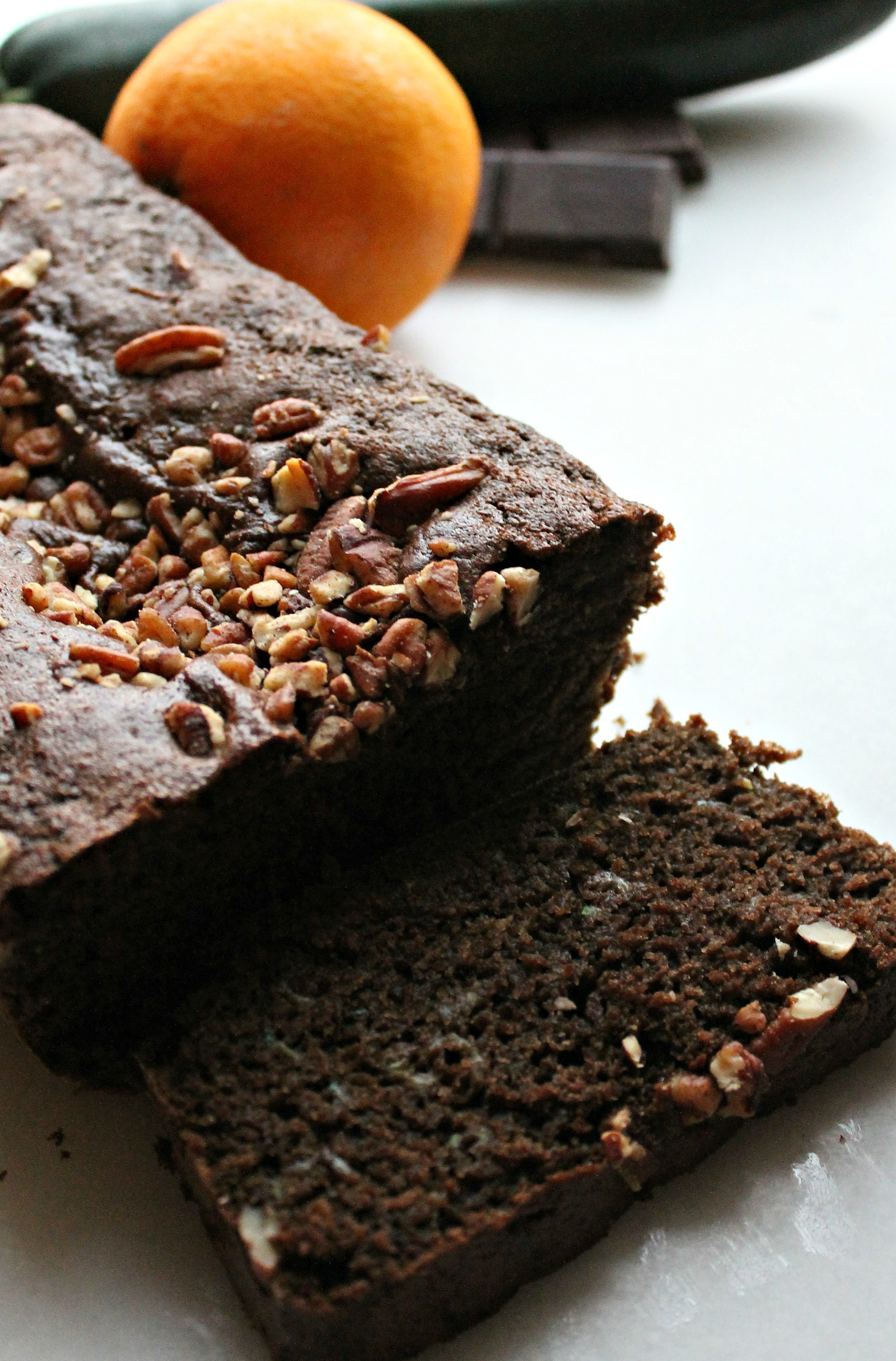 Orange Chocolate Zucchini Bread | The Rowdy Baker