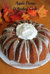 Apple Pecan Whiskey Cake watermark