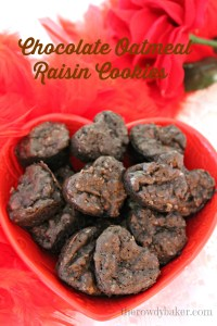 Chocolate oatmeal raisin hearts vertical watermark