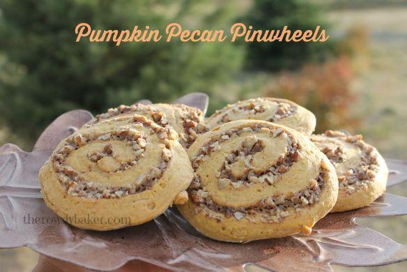 Pumpkin pecan pinwheels horiz