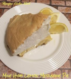 Cydnees mile high lemon meringue pie