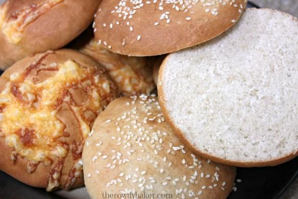 Hearty Hamburger Buns - The Rowdy Baker