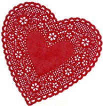 Valentine Paper Doilies by Royal Lace