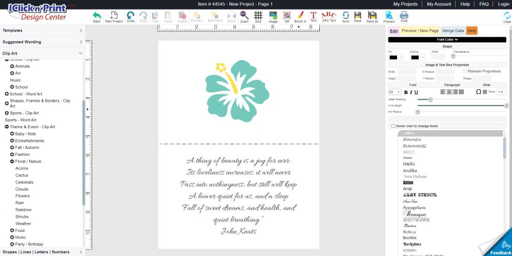 greeting cards iclicknprint theroyalstore