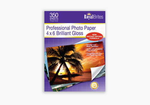 Photo Paper Made in USA Royal Brites