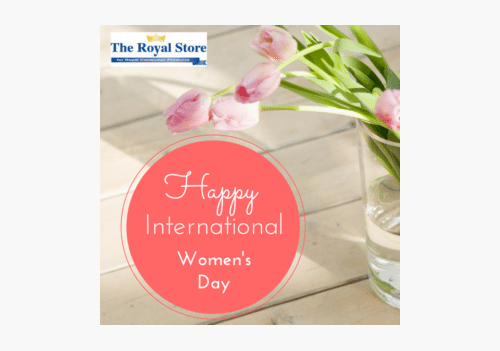 International Womens Day TheRoyalStore