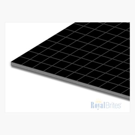 """Foam Board Black Gridboard 11""""x14"""" Royal Brites"""