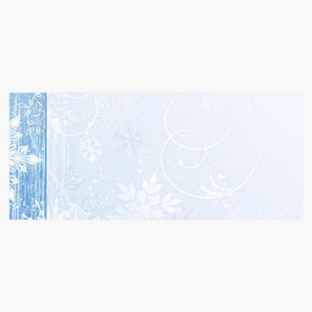 Winter Wonderland Envelopes, Geographics Christmas Stationery