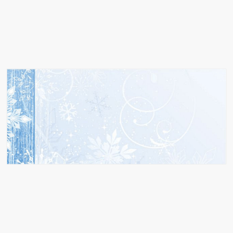 Winter Wonderland Envelopes, Geographics Christmas Stationery