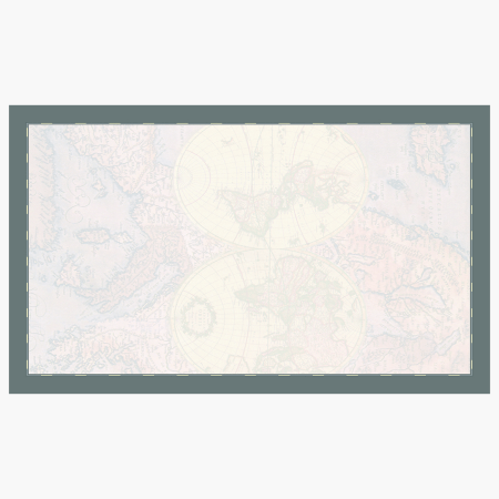 """World Map Business Cards, 2""""x3.5"""" Print on Demand"""