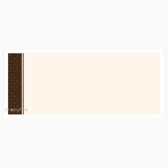 "Cappuccino Envelopes No.10 (4.12""x9.5"") Print on Demand"