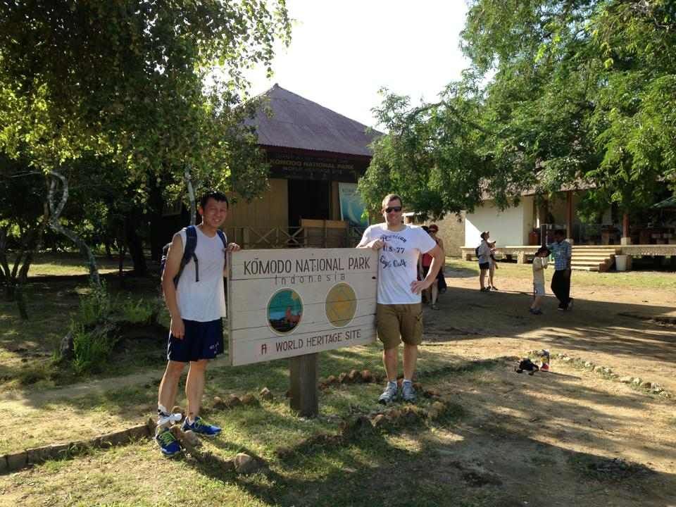 Michael & Halef in Komodo Indonesia