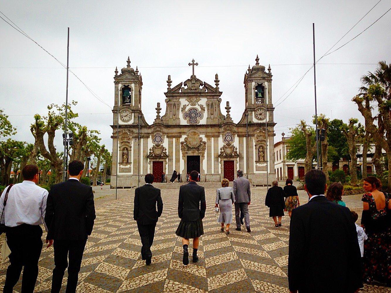 Portuguese Wedding: Igreja Paroquial de Matosinhos