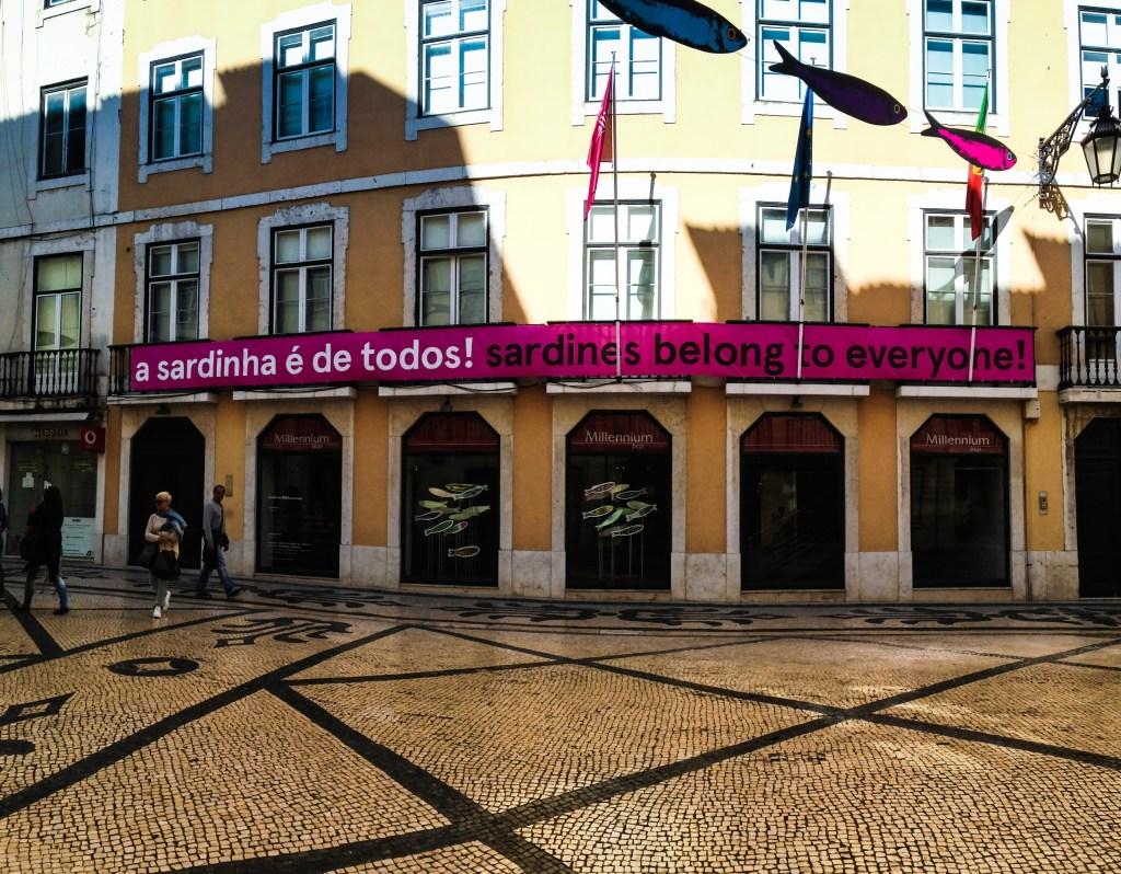 Lisbon Sardine Festival - A beautiful street in Lisbon
