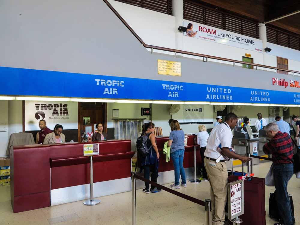 Belize City to Tikal - Airport