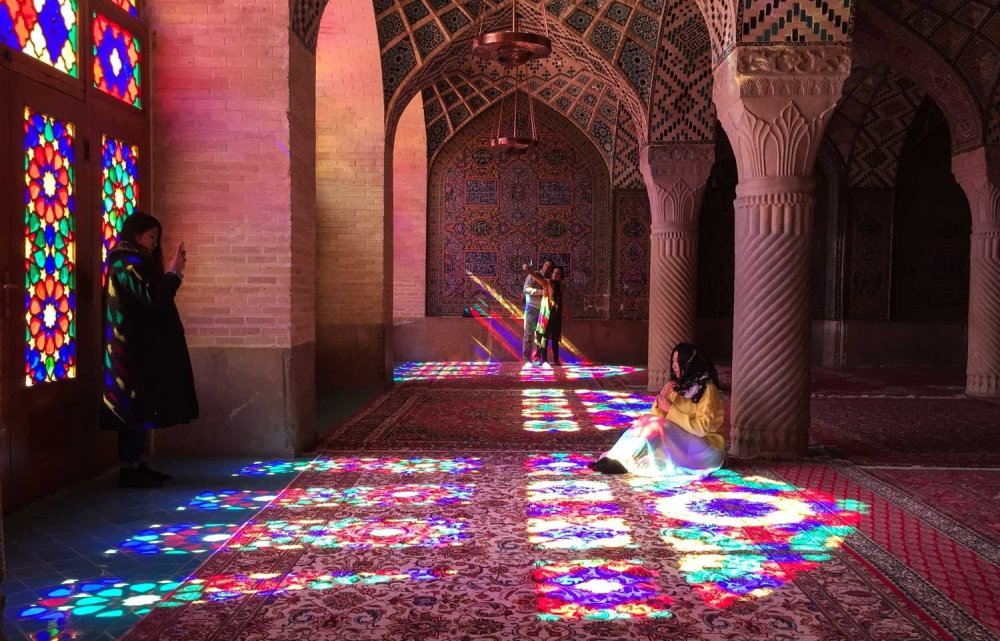 Is Iran safe for tourists - The Pink Mosque in Shiraz