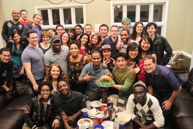 How to be a good Couchsurfing guest - attend CS events with your host