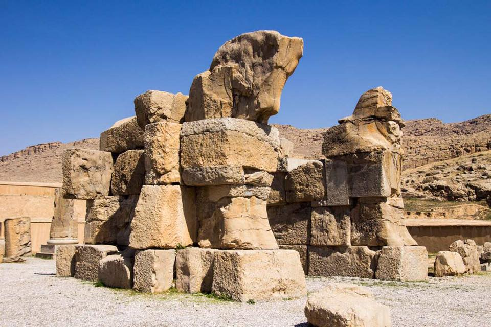 Highlights of Persepolis - Unfinished horse statues