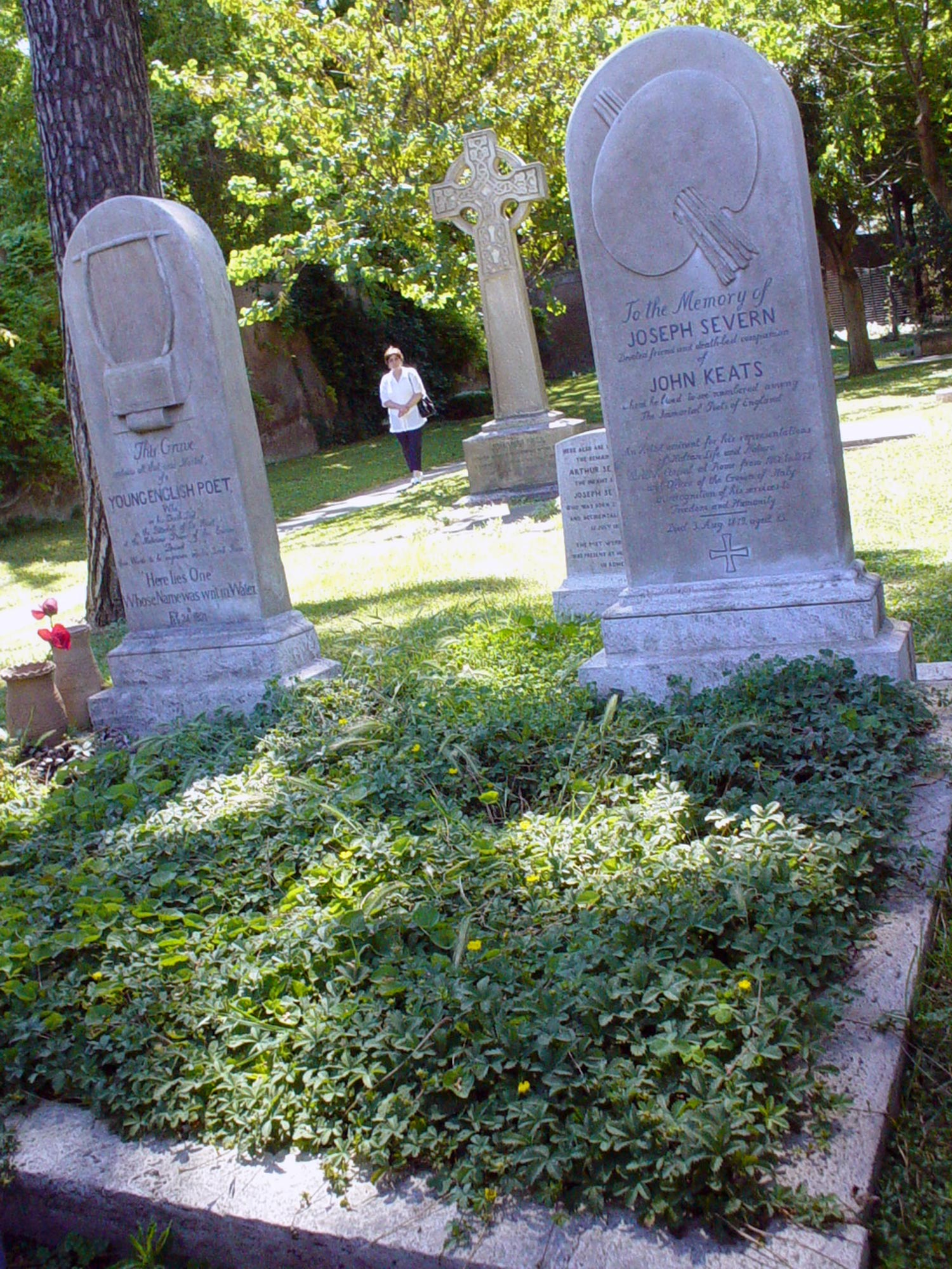 best kept secrets of Rome - Keats grave