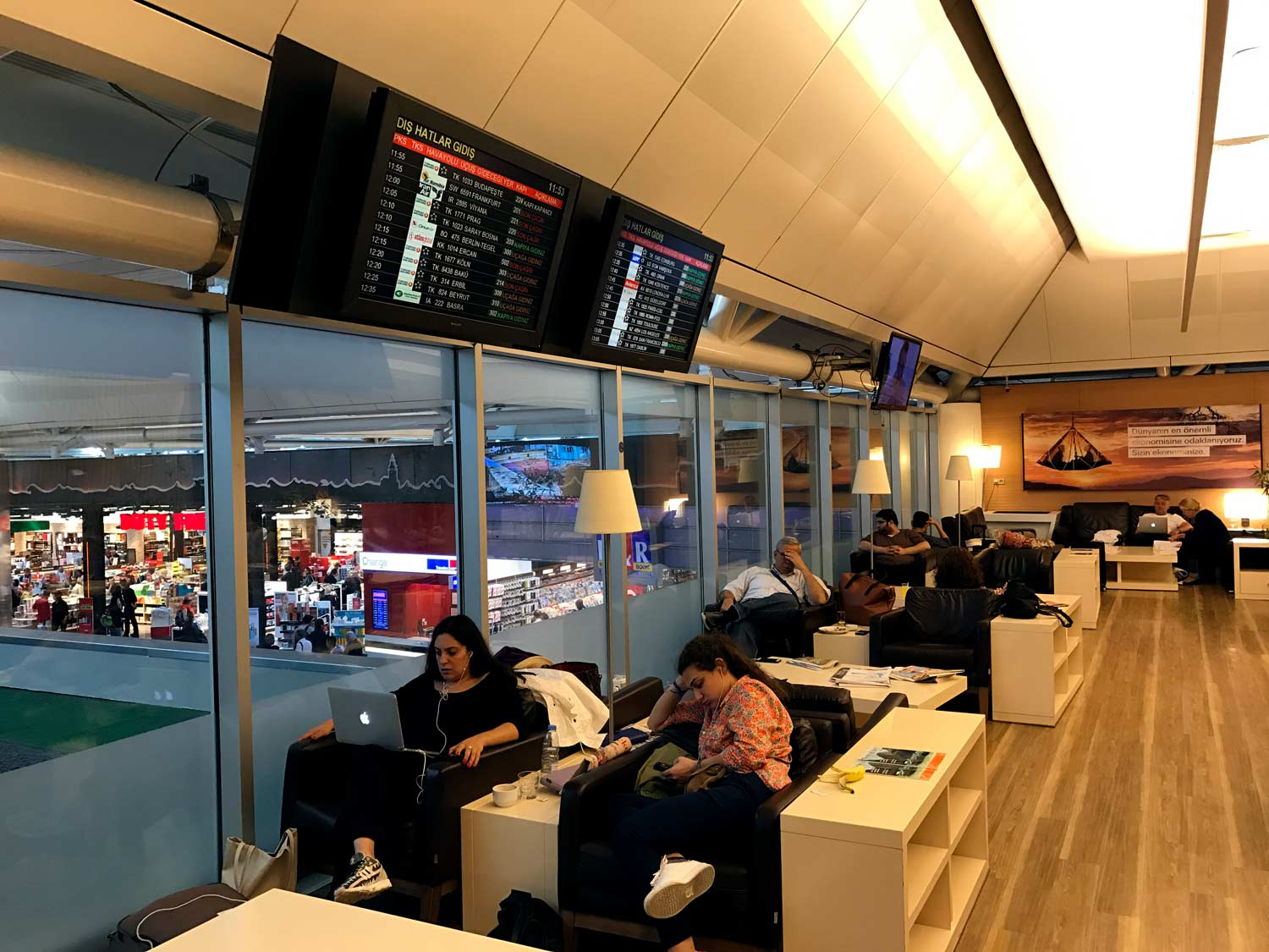 HSBC Premier Lounge Seating