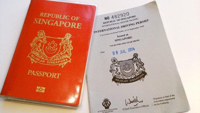 Singapore culture - passport