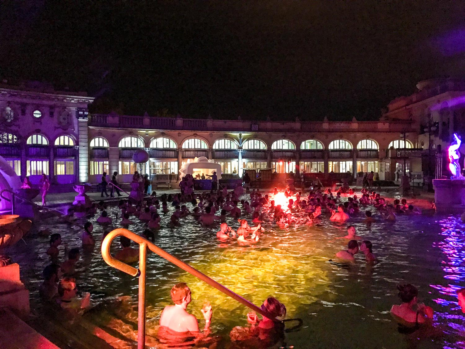 Budapest Pool Party pool