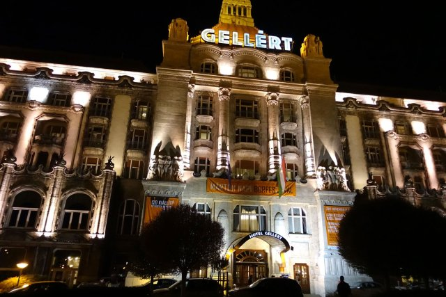 Budapest Thermal Baths danubius hotel gellert