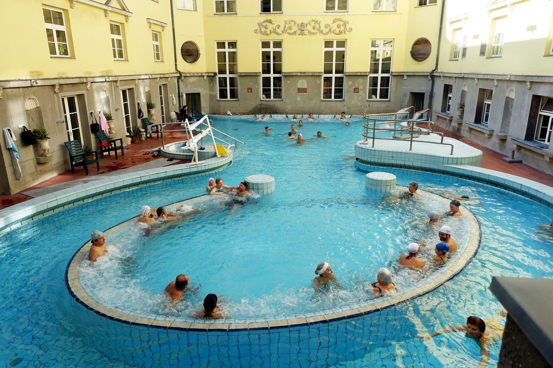 Budapest Thermal Baths lukacs thermal baths pool