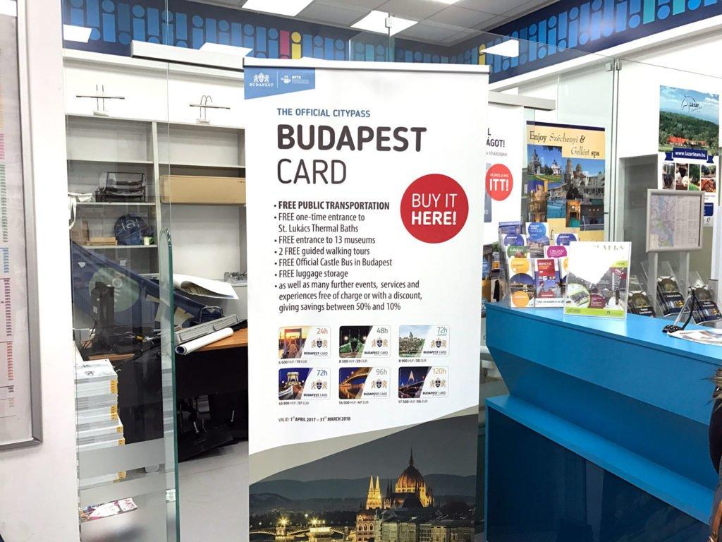 budapest tourist info