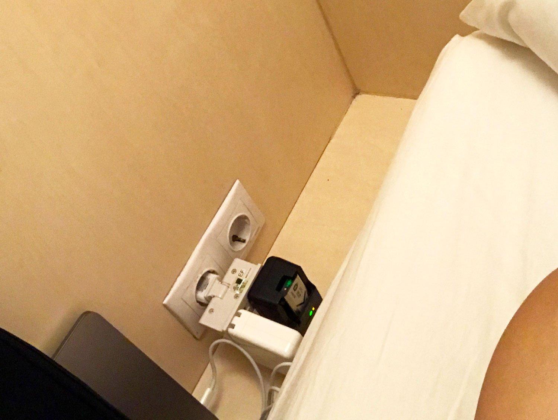 budapest maverick lodge hostel charging station