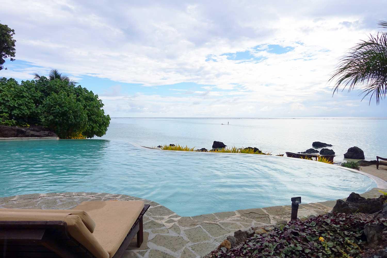 cook islands food pacific resort