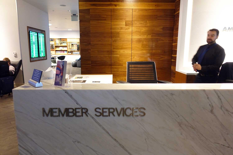 Centurion Lounge SFO Member Services