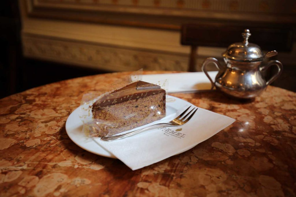 Demel pastry