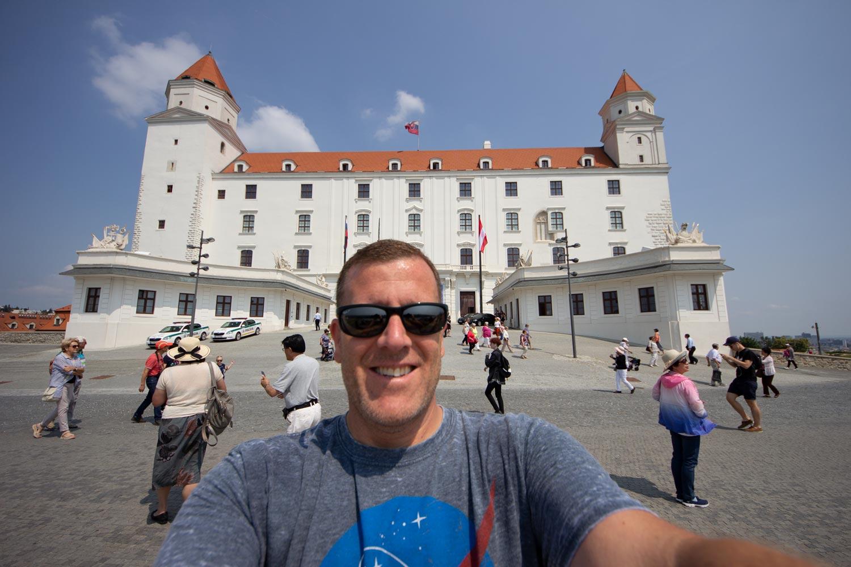 Bratislava Castle selfie