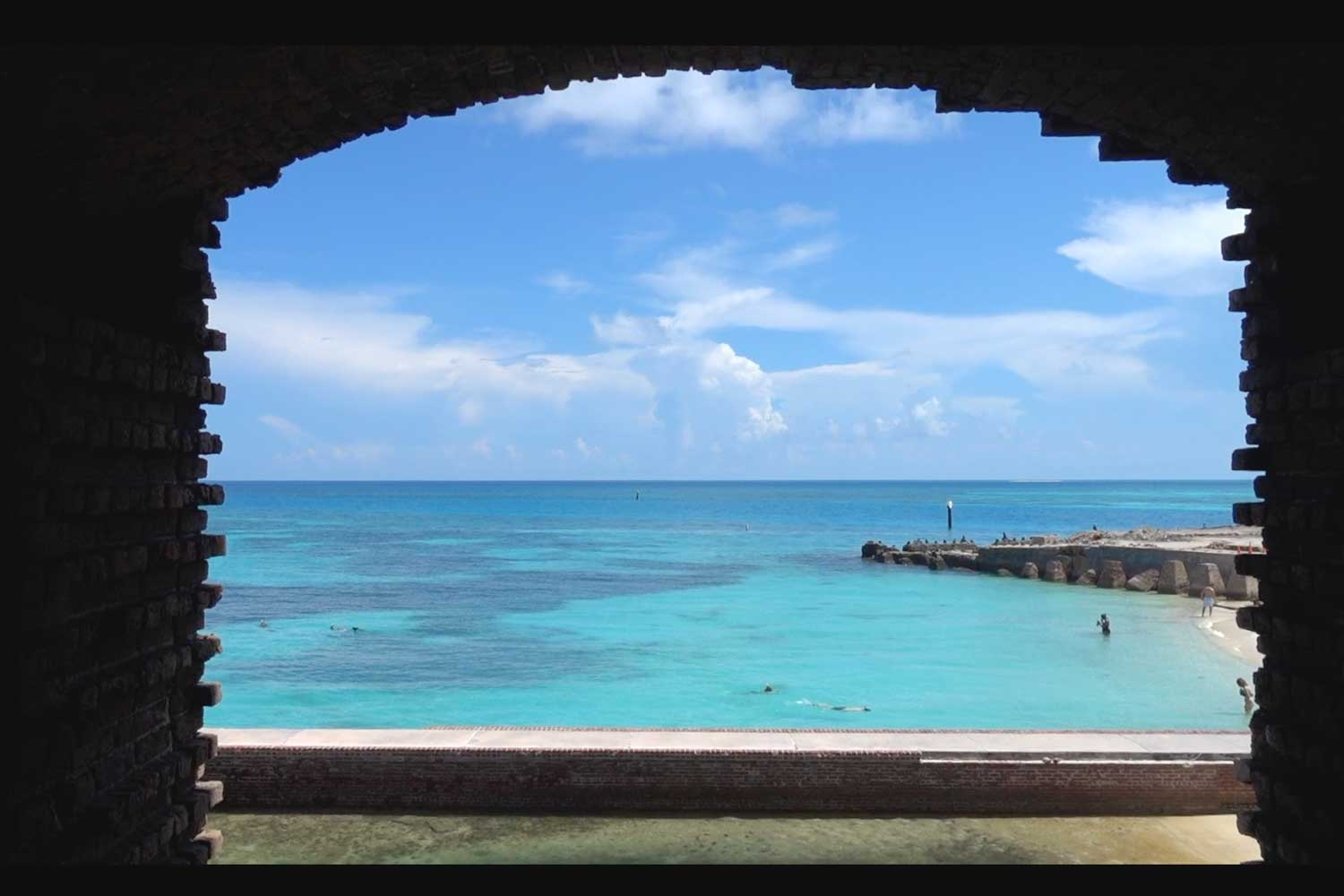 dry tortugas national park window