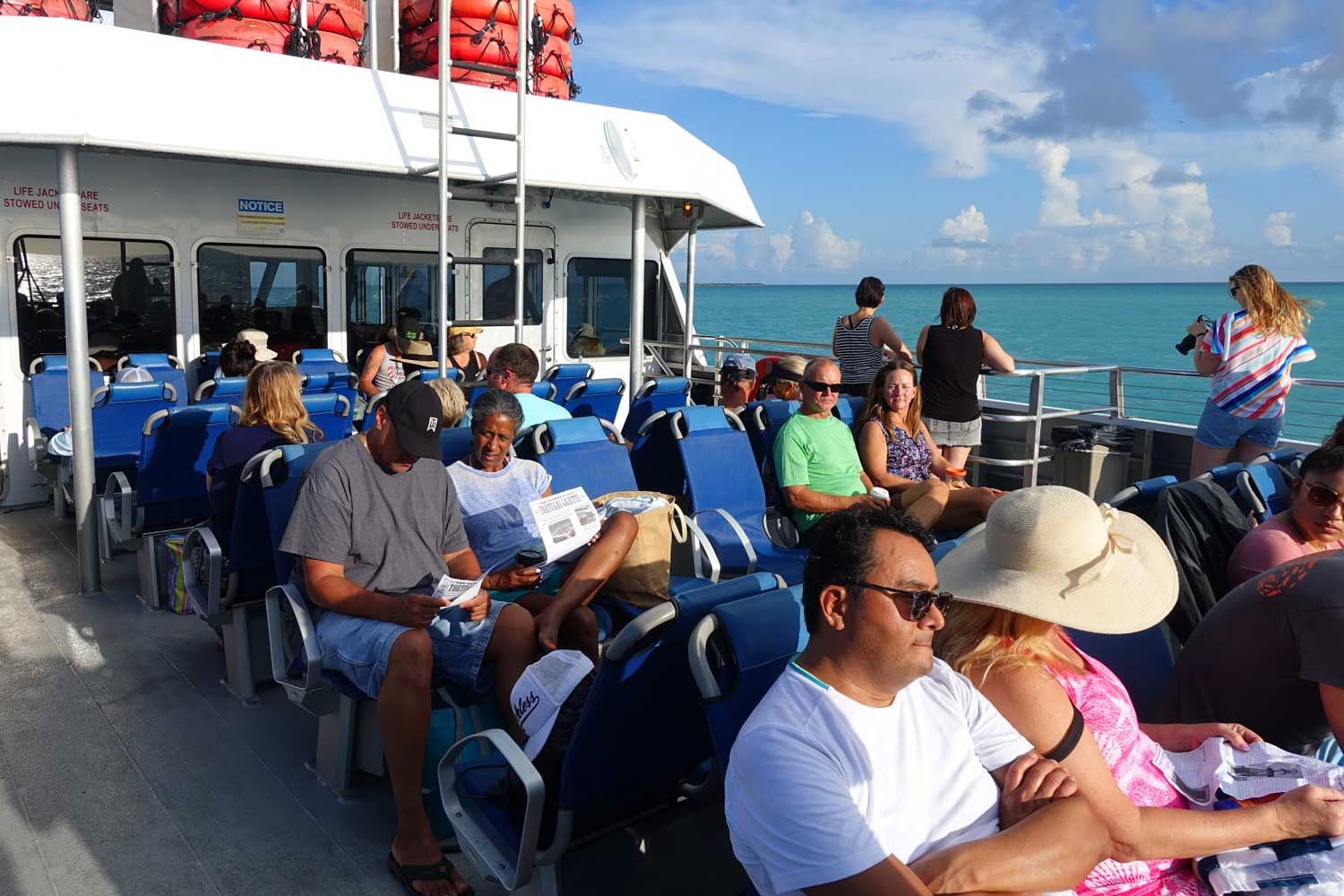 dry tortugas national park yankee freedom sundeck